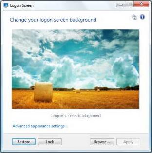 Logon Screen图1