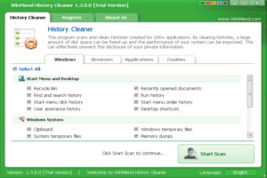 WinMend History Cleaner图1