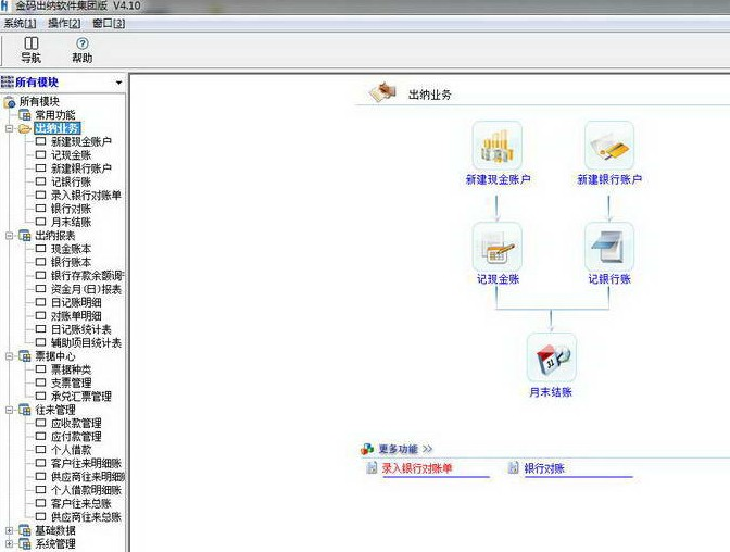 金码出纳软件集团版图1
