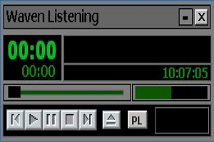 微文聆听音乐播放器图1