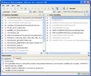 Rapid Environment Editor图1