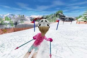 冬季滑雪图1
