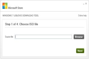 Windows 7 USB/DVD Download Tool图1