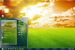 《阳光大自然》桌面主题图1