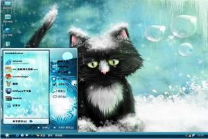 可爱小猫电脑主题图1