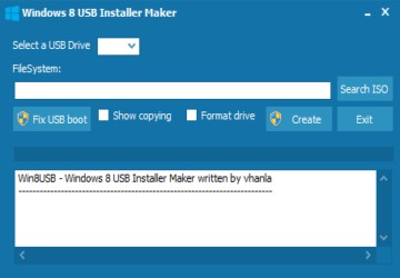 Windows 8 USB Installer Maker图1
