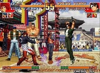 KOF拳皇联网对战版图1
