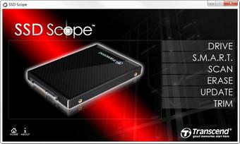 Transcend创见SSD Scope固态硬盘工具图1