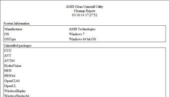 AMD Clean Uninstall Utility显卡卸载工具图1