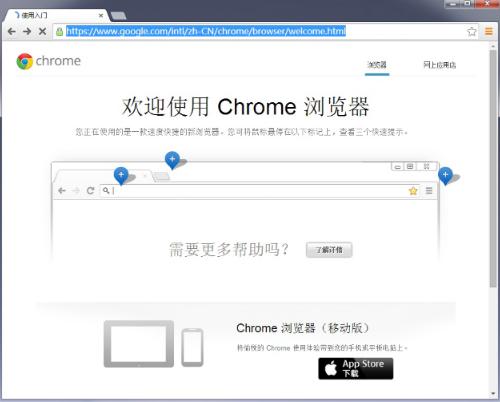 谷歌浏览器 开发版图1