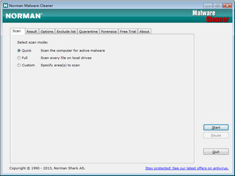 恶意分分快三计划清理 Norman Malware Cleaner图1