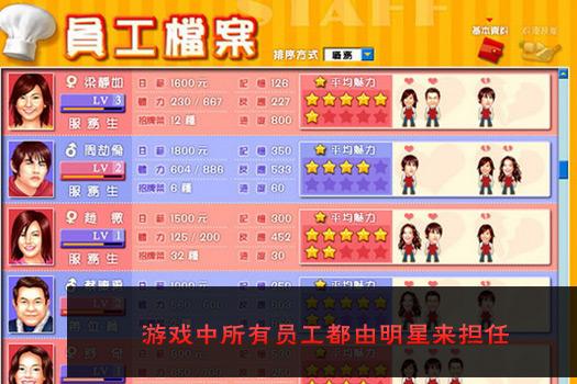 明星餐厅中文版图1