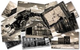 Win7官方主题-废弃城镇图1