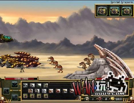人兽大战3无敌版图1