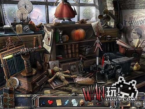 未知迷局:胡迪尼的城堡图1
