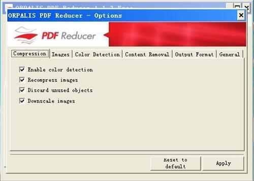 PDF Reducer 1.1.0.7图1