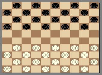 国际跳棋图1