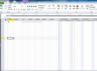 Microsoft Project 2010图1