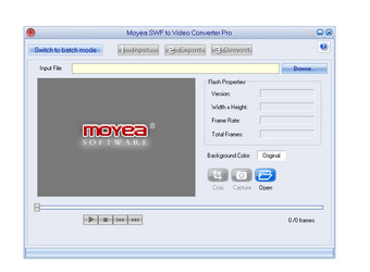 Moyea SWF to Video Pro图1