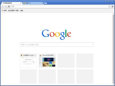谷歌浏览器图1